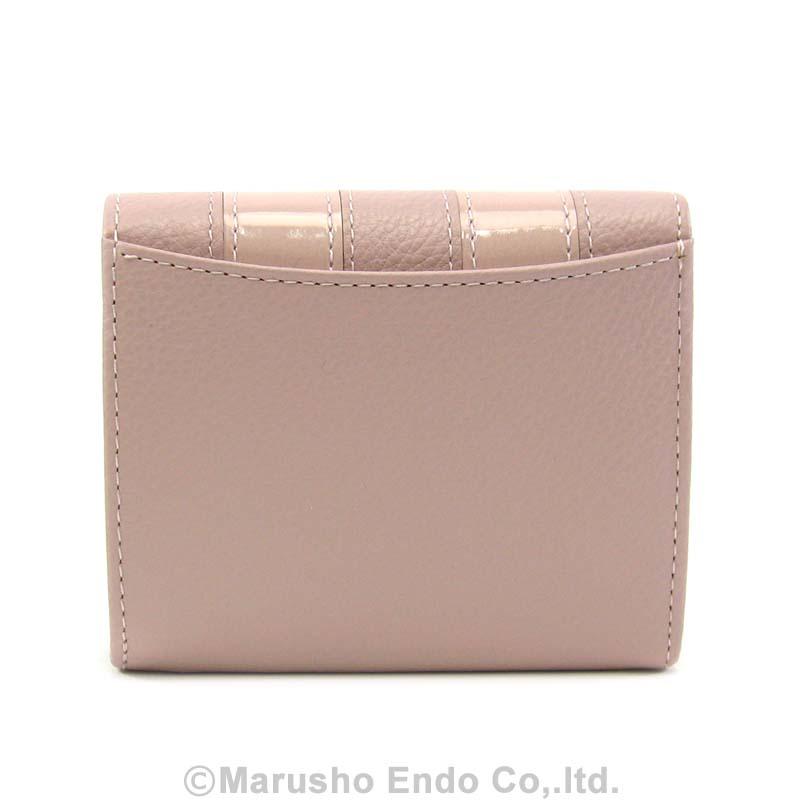 【シャルル ジョルダン】 コワン パース 2つ折り財布 ボックス型小銭入れタイプ [55-3451]/ピンク