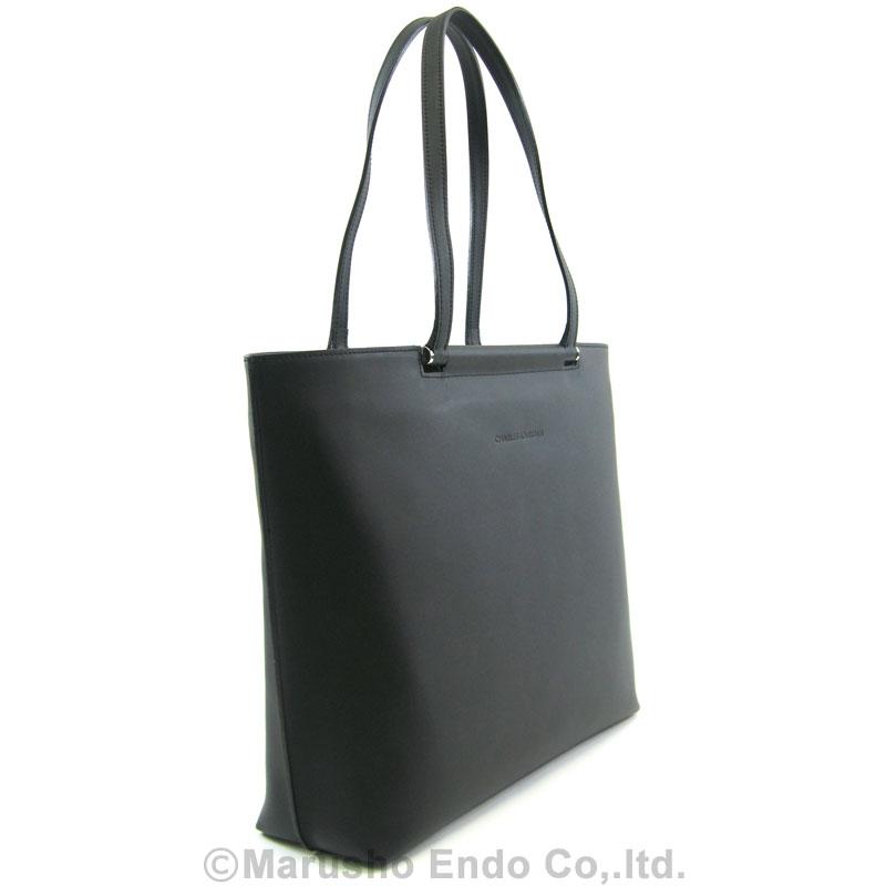【シャルル ジョルダン】 エマーブル A4対応トートバッグ [50-5202]/ブラック