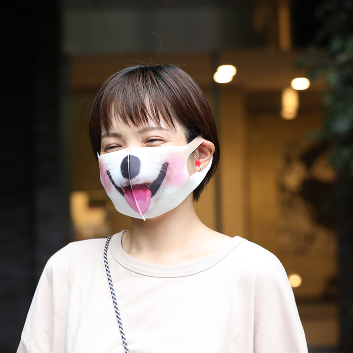 まるになれるマスク 〜 Life with dog 〜