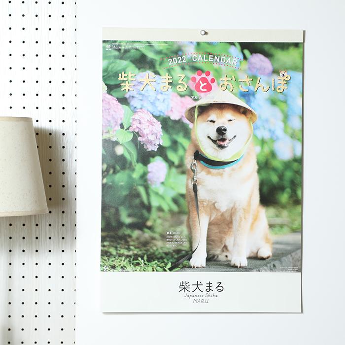 柴犬まるとおさんぽ 2022年壁掛けカレンダー