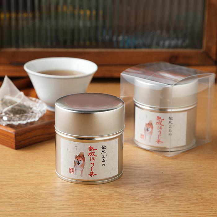 柴犬まるのお茶シリーズ(12P入り:缶)