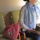柴犬まるの Happy Mother's Day<br>ローズコサージュエコバッグ