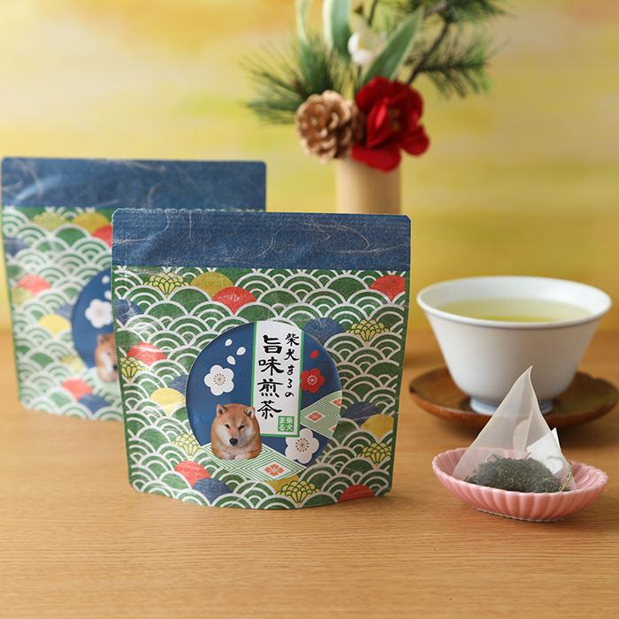 柴犬まるの新春お茶シリーズ