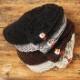 【サンプル品】まる刺繍ニット帽