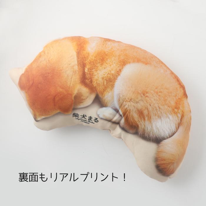 柴犬まる生誕祭記念☆等身大ダイカットねんねまるクッション