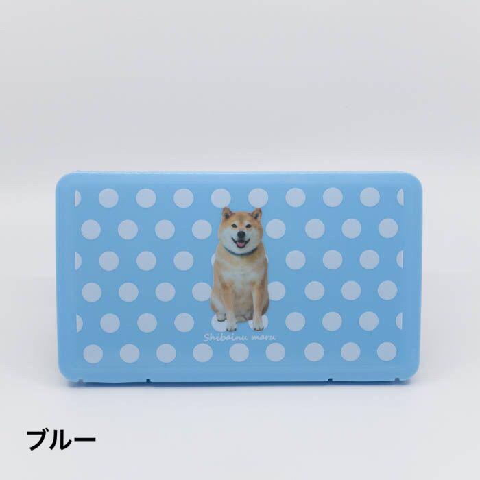 柴犬まるのマスクケース