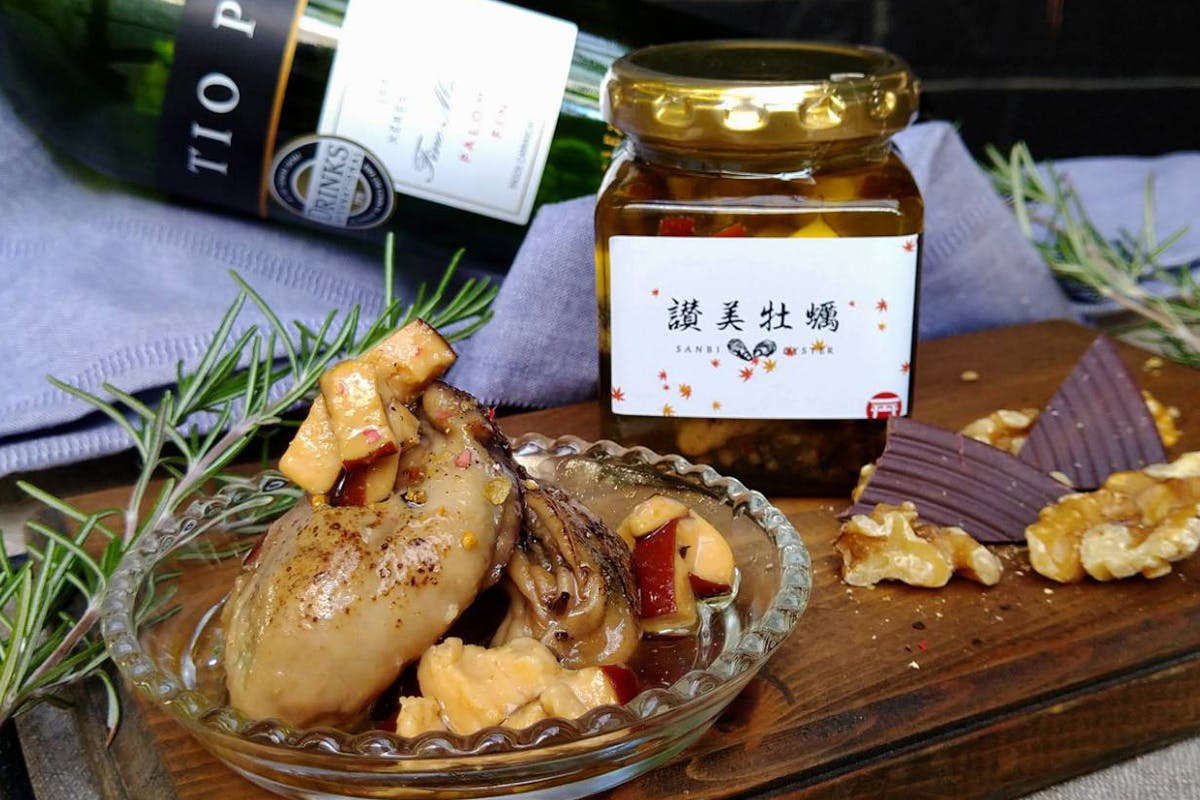 牡蠣のオイル漬け(グリル&チーズとアヒージョ)セット