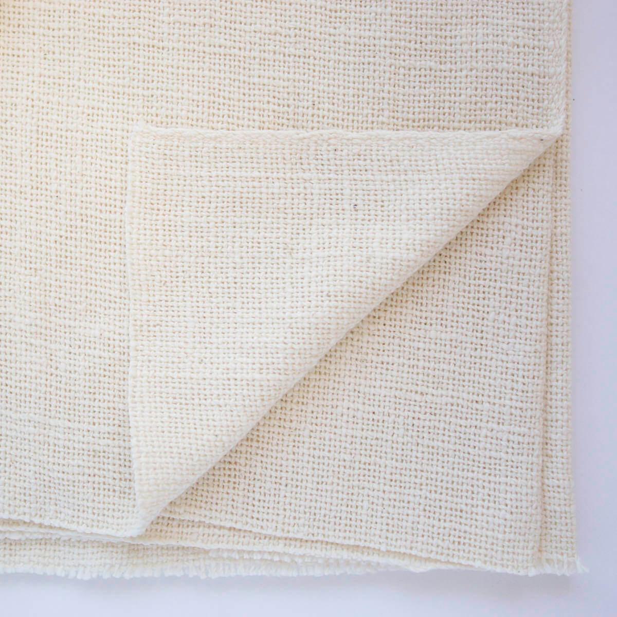 ガラ紡生地|417/2平織り