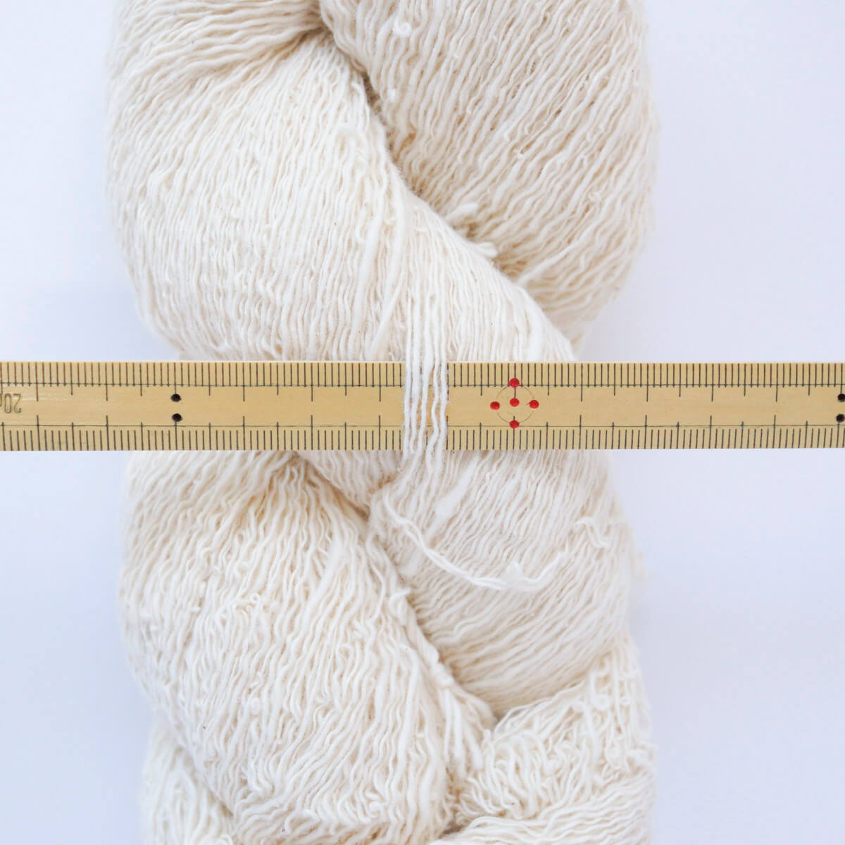ガラ紡糸|317/2番手糸 生成
