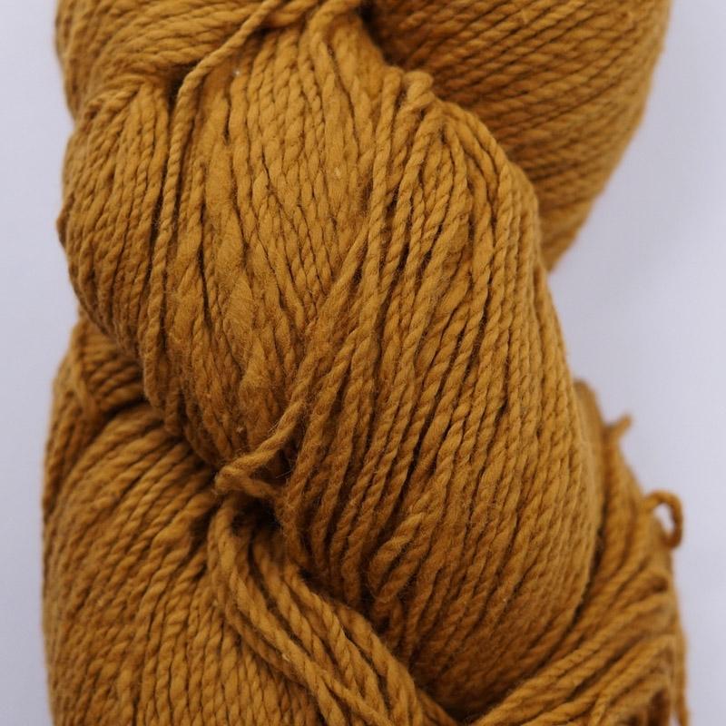 手つむぎ糸|417/2 カラー60色 小麦色