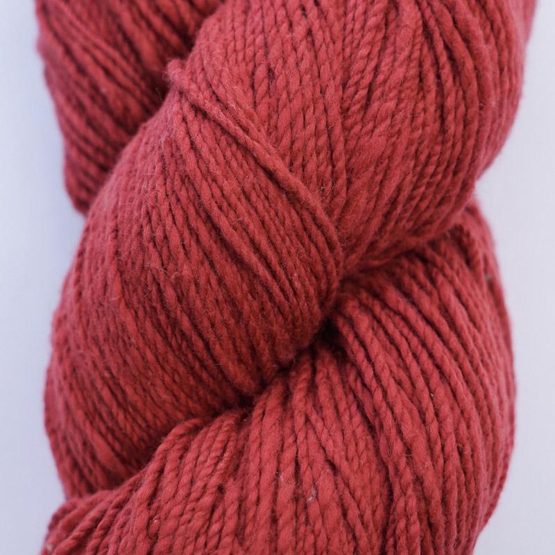 手つむぎ糸|417/2 カラー60色 緋色