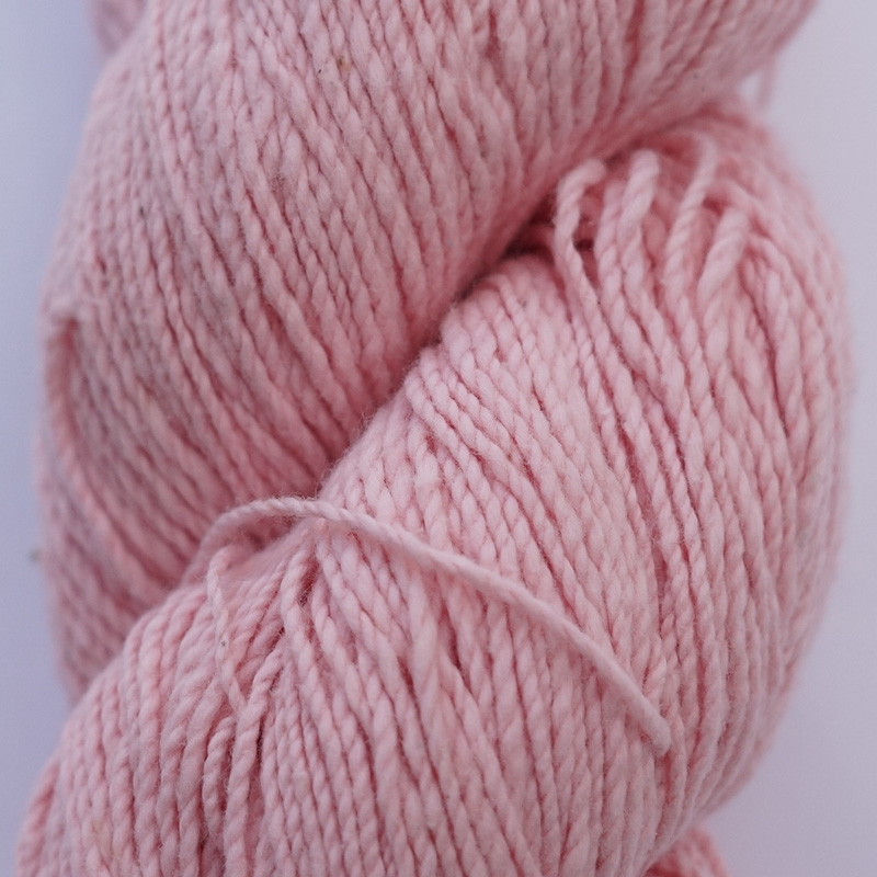 手つむぎ糸|417/2 カラー60色 桜色
