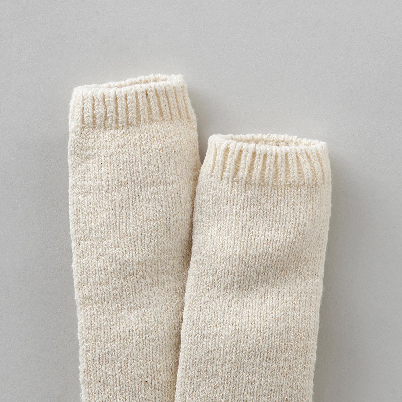 体温調節に使いやすい。ギフトにもおすすめ!|ガラ紡の赤ちゃんレッグウォーマー