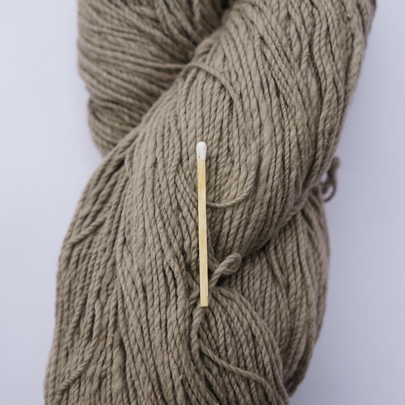 手つむぎ糸|417/2 カラー60色 鳩羽鼠