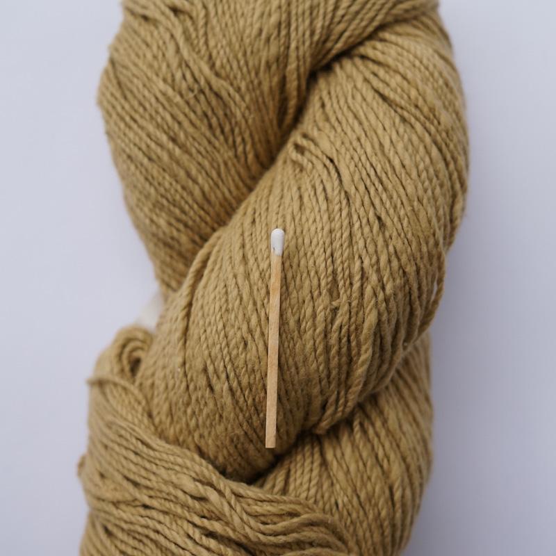 手つむぎ糸|417/2 カラー60色 砥粉色