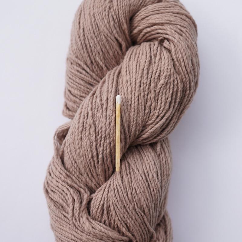 手つむぎ糸|417/2 カラー60色 赤白橡