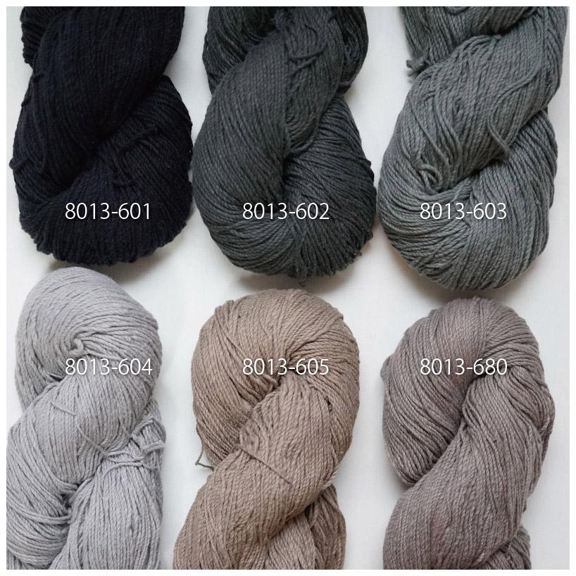 手つむぎ糸|417/2 カラー60色 青鈍