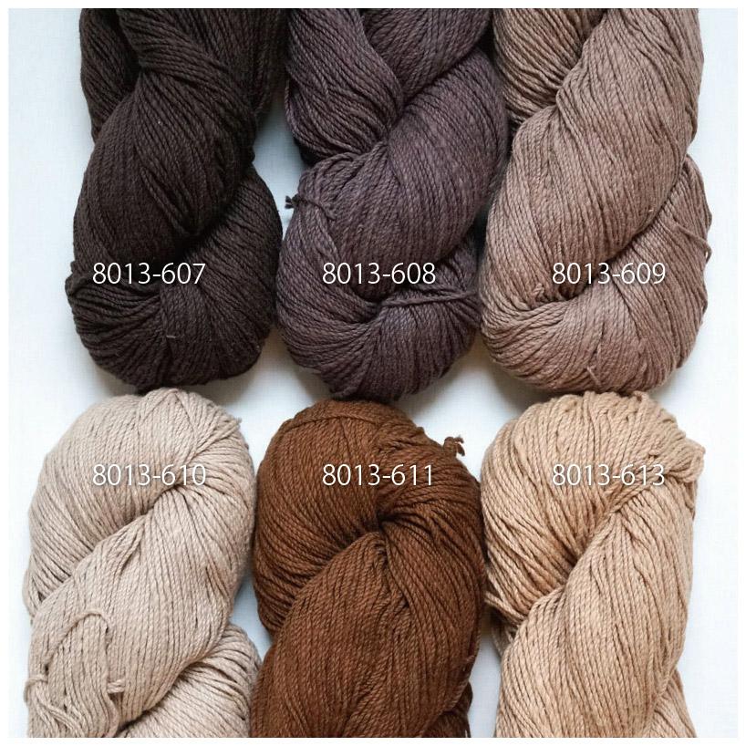 手つむぎ糸 417/2 カラー60色 香色
