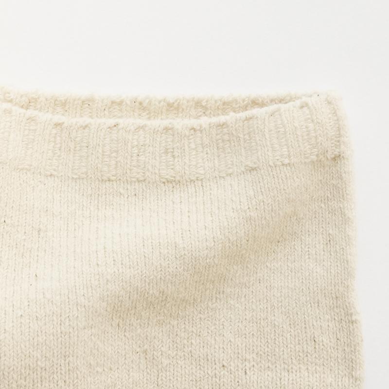 ガラ紡の腹巻