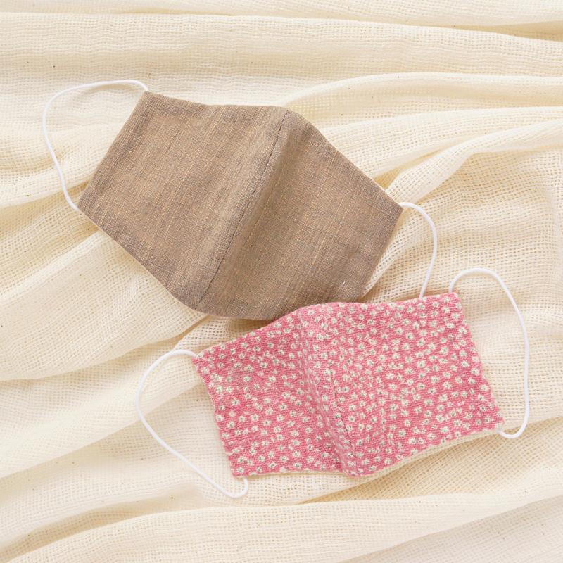 手縫いでつくれる立体型マスク