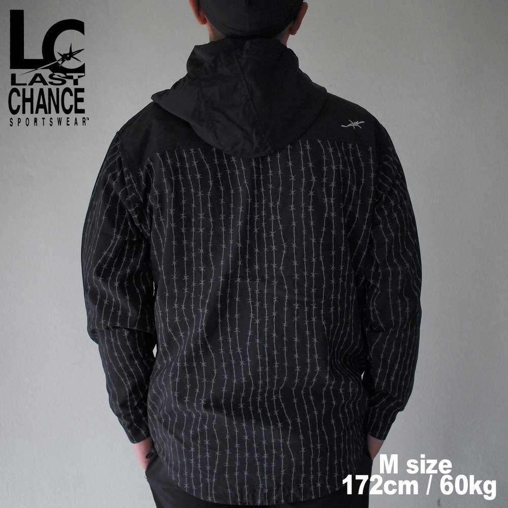 Last Chance ラストチャンス NYLON F/Z FOOD JACKET / BARDED WIRE