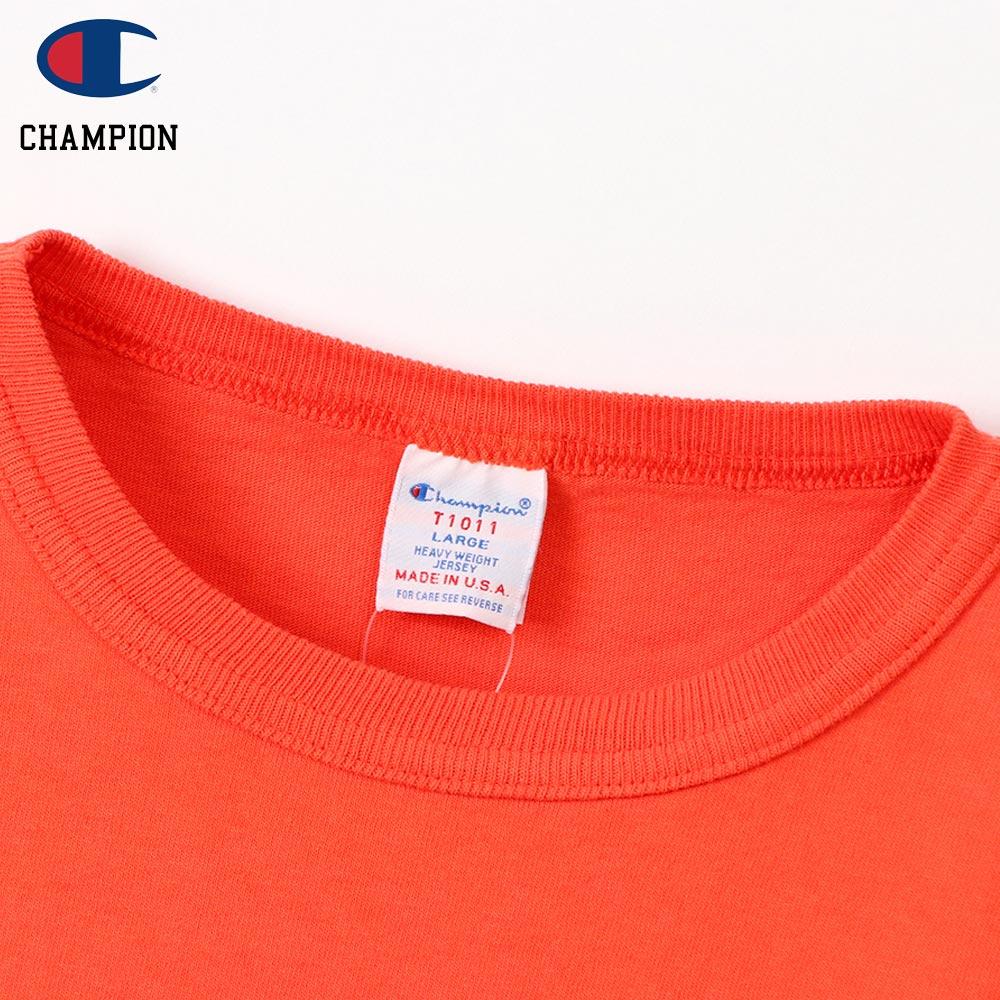 Champion チャンピオン T1011 POCKET-Tee MADE IN USA / ORANGE