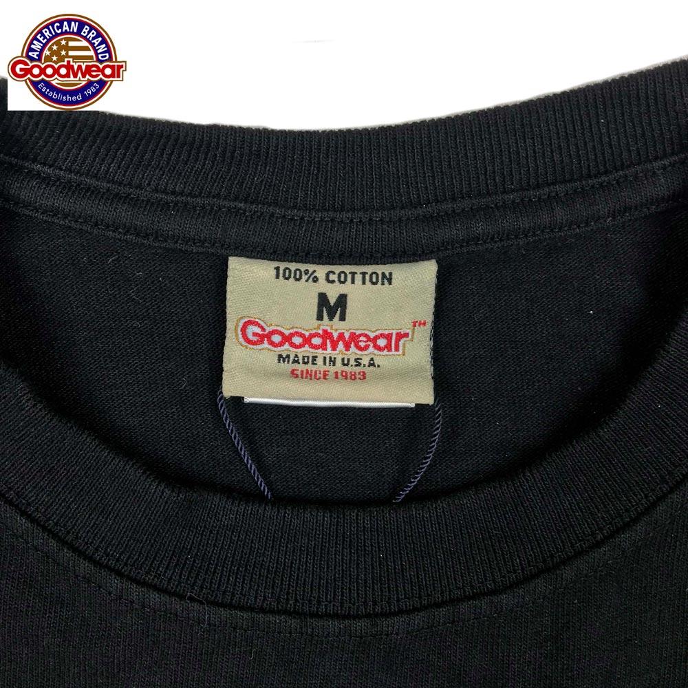 GOODWEAR グッドウェアー SS POCKET Tee /  BLACK