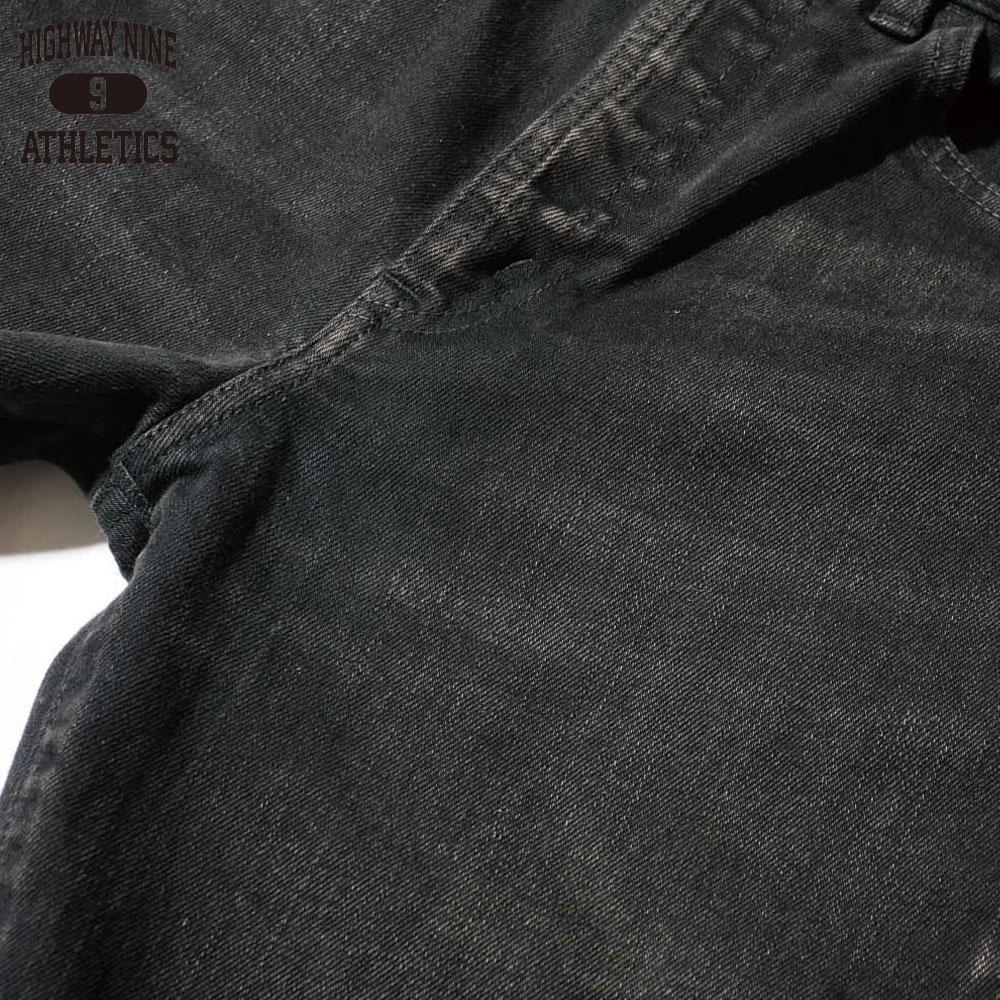 HIGHWAY NINE ハイウェイナイン STRETCH BLACK SKINY / BLACK-USED