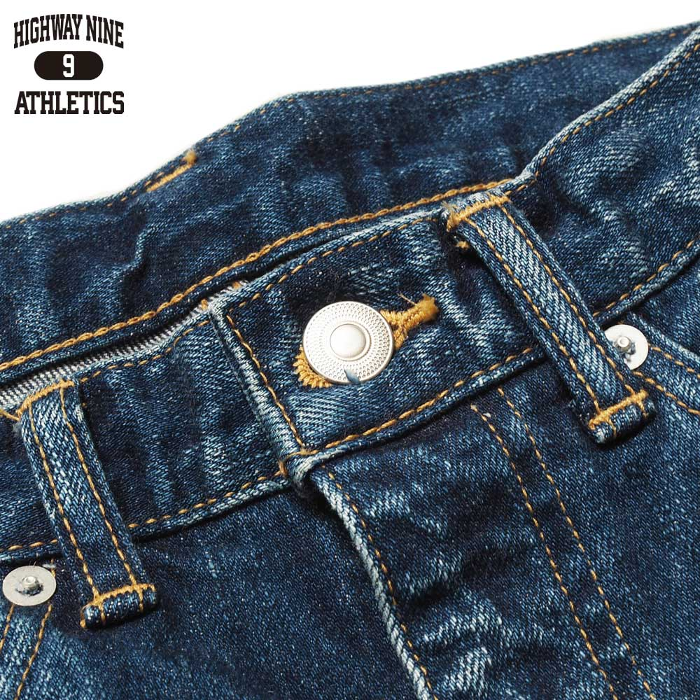 HIGHWAY NINE ハイウェイナイン STRETCH RED LINE STRAIGHT / IND-USED