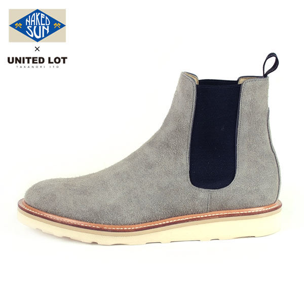 NAKED SUN × UNITEDLOT SUEDE SIDE GORE BOOT