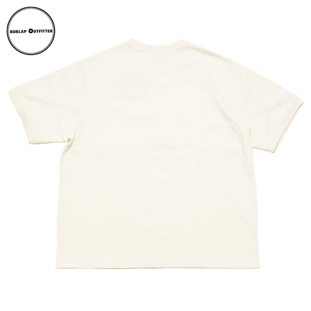 Burlap Outfitter バーラップアウトフィッター B.B TEE / WHITE