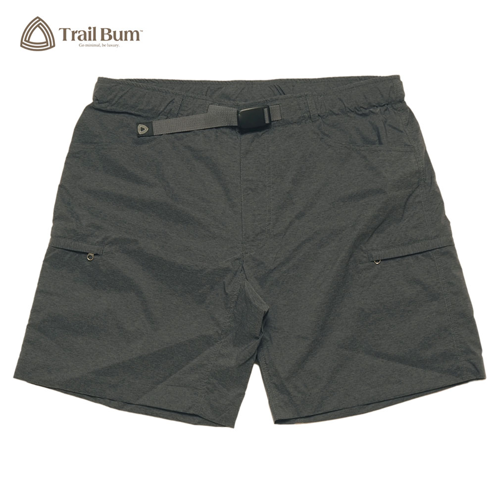TRAIL BUM トレイルバム BETTER SHORTS EQUILIBRIUM  / CHARCOAL