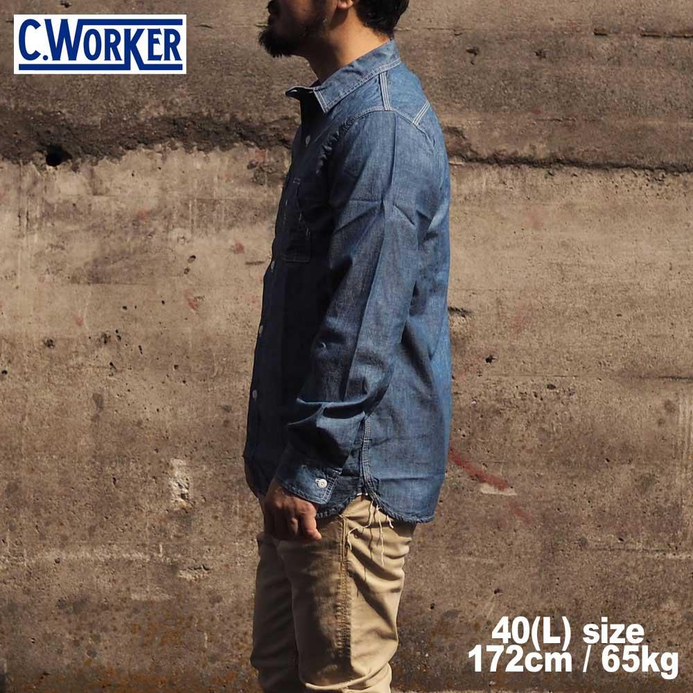 C WORKS シーワークス Bridgeport / BLUE
