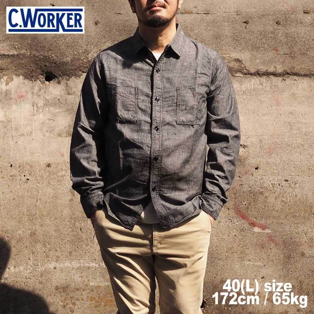 C WORKS シーワークス Bridgeport / BLACK
