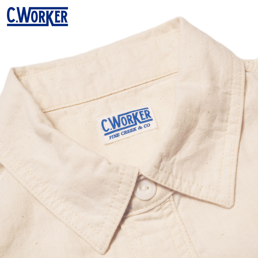 C WORKS シーワークス Bridgeport / WHITE