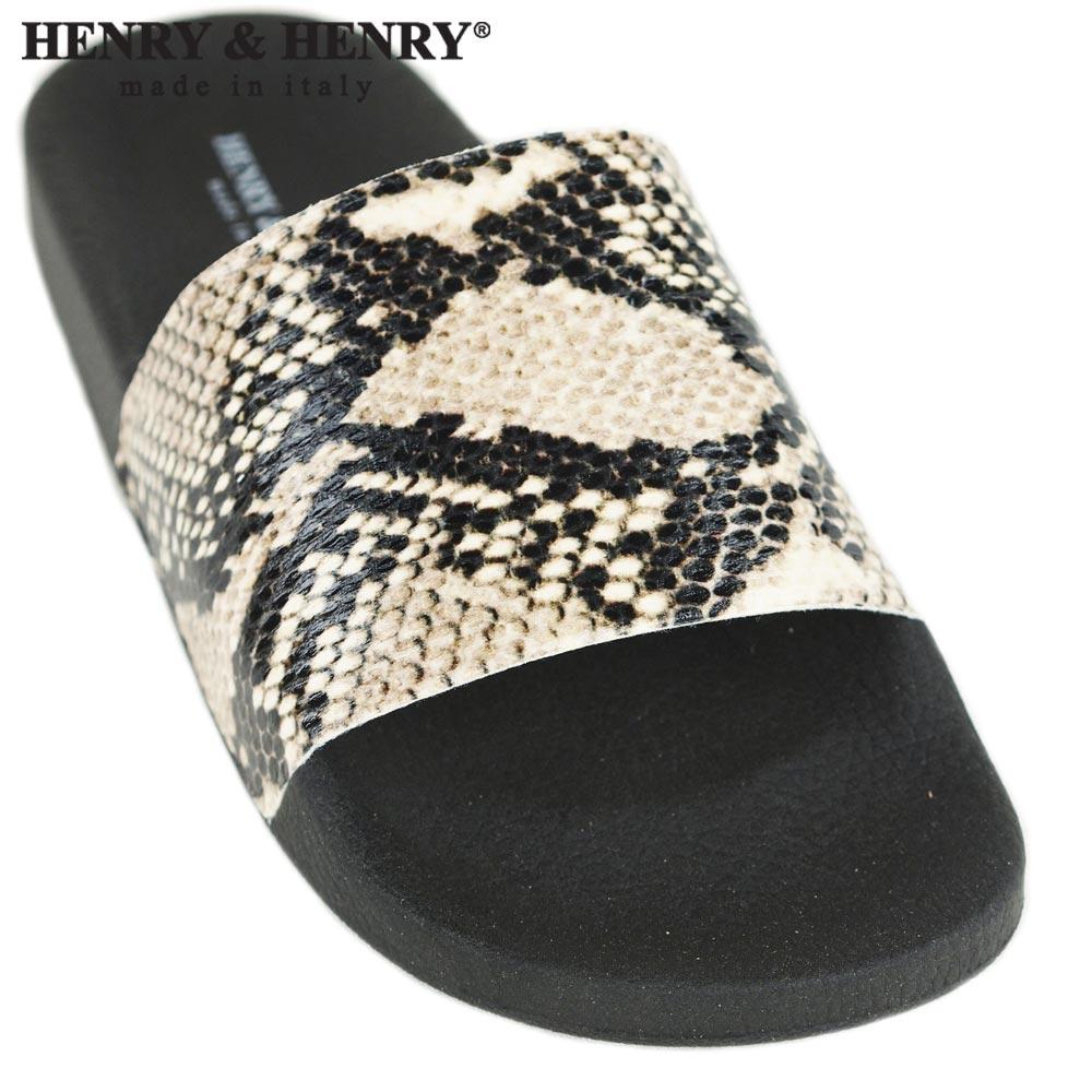 HENRY&HENRY  180 / PYTHON × BLACK