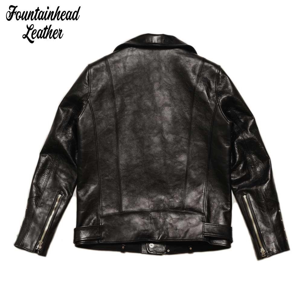 予約商品 FOUNTAINHEAD LEATHER ファウンテンヘッドレザー  BETA  / BLACK