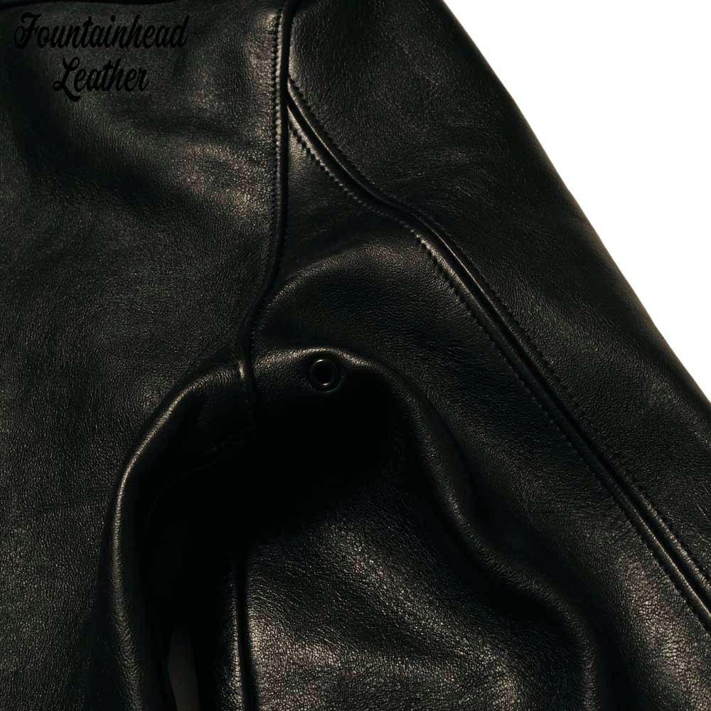 予約商品 FOUNTAINHEAD LEATHER ファウンテンヘッドレザー  GAMMA  / BLACK