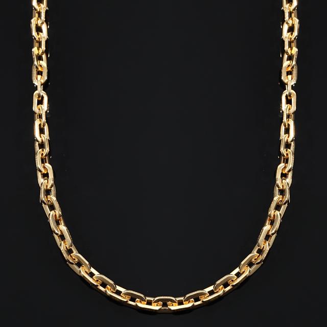 オーディンリンクチェーン ゴールドネックレス ORDIN LINK CHAIN 幅6 x 50cm USラッパー 18KGOLD ギフト プレゼント クリスマス 時計 メンズ レディース お祝い 誕生日