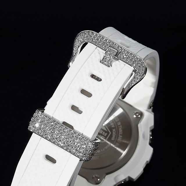G-SHOCK GST w310 G-Steel ホワイト バケットレインボー