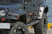 JKラングラー用50ミリワイドオーバーフェンダー ブッシュワーカー ポケットスタイル