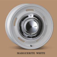 レトロフィットなアルミホイール Dean Cross Country マーガレット ホワイト 139.7 6穴 7J-16 +40/+25/+15の3種類