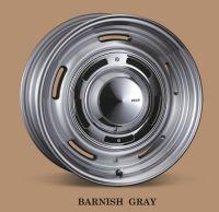 レトロフィットなアルミホイール Dean Cross Country バーニッシュグレイ 139.7 6穴 7J-16 +40/+25/+15の3種類