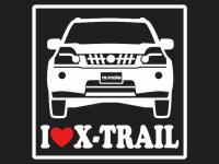 X-トレイル用ラブ シール