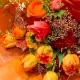 ギフトブーケ(カラー:オレンジ系)
