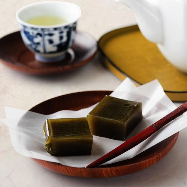 有機抹茶使用 抹茶ようかん(3個入) (お菓子 贈り物 ギフト 和菓子 お茶菓子 茶道)