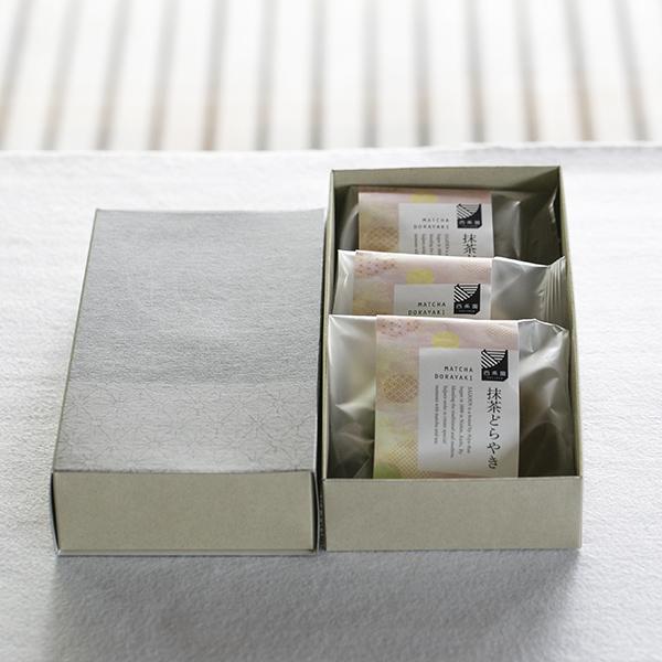 抹茶どら焼き 3個入(化粧箱入)