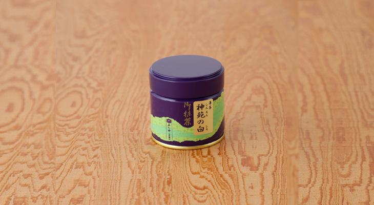 [薄茶] 神苑の白(30g缶入)