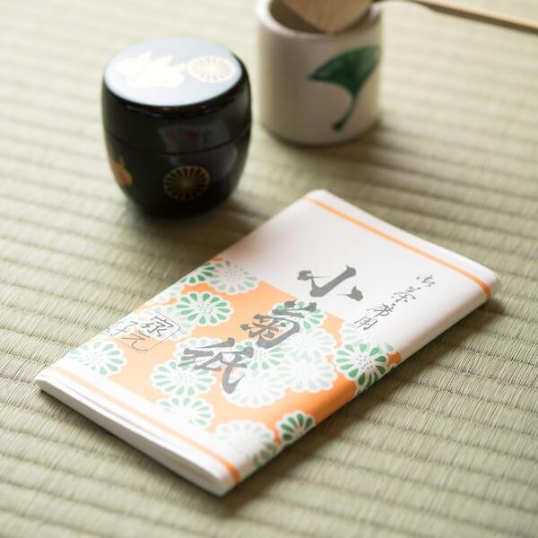 小菊紙(男性用) (茶道具セット 茶道 薄茶用 抹茶 ギフト 贈り物)