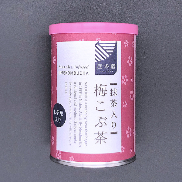 抹茶入り 梅こぶ茶(40g×2袋入)
